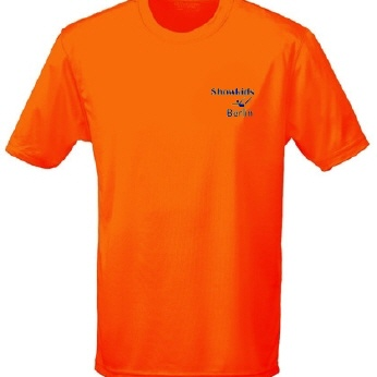 SKD-Funktions-T-Shirt electric orange