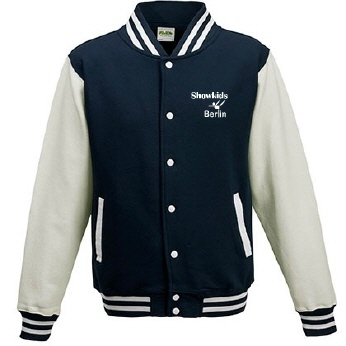 SKD-Varsity Jacket navy-white